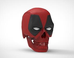 Deadpool Skull 3D printable model