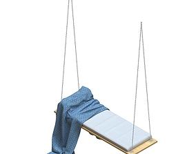 garden Porch Swing 3D