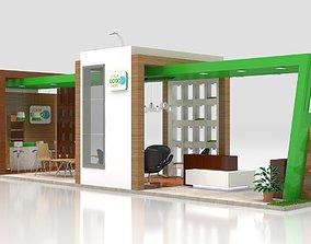 Exhibition Stand rostrum 3D