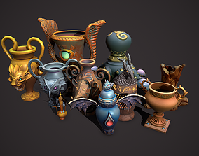 magic pots 3D model