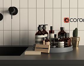3D model Aesop Cosmetics Bottle Set