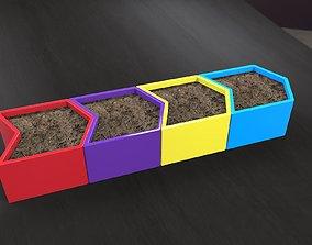 flower-pot pack3 3D printable model