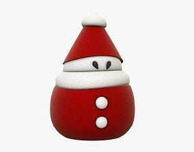 Santa Claus stylized 3D