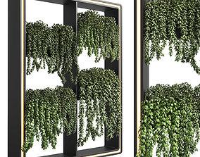 3D asset Collection Indoor plant-plant stand plastics vase