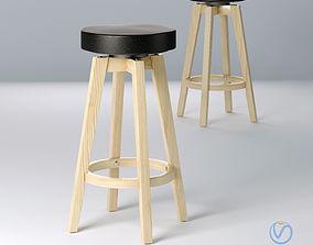 3D semi-bar stool Orbit