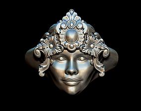 sterling Woman ring 3D print model
