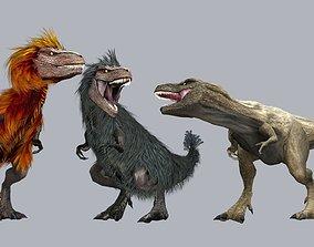 Feathered Tyrannosaurus 3D model
