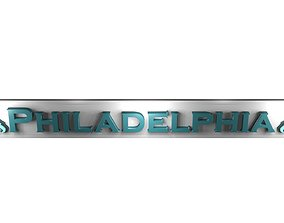 3D model Philadelphia Eagles