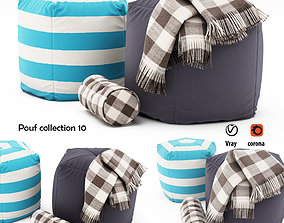 3D model Pouf collection 10