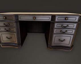 3D asset Vintage Table