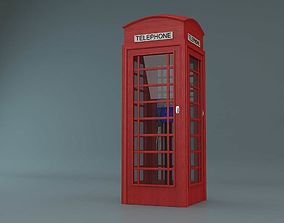 Telephone Booth 3D