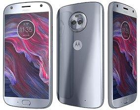 3D Motorola Moto X4 Sterling Blue