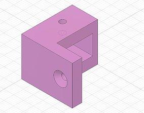 Pocket door roller 3D printable model