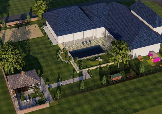 Idea to visualize how backyard design works