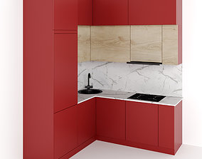 3D model Kitchen 5 hood