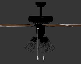ceiling Classic Fan 3D model