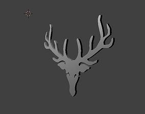 Dalmore Iconic Stag Emblem 3D model