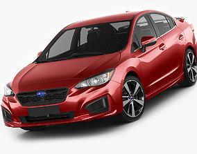 Subaru Impreza 2017 3D