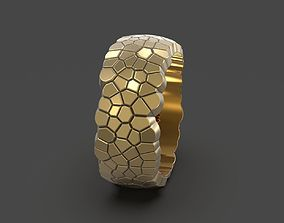 Ring voronoi 3D printable model