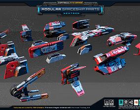 NextGEN - Modular Spaceship Parts 3D model