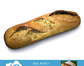 3D model Bread A
