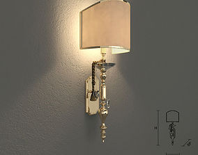 Masiero VE1002 A1 wall lamp 3D