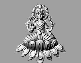 3D printable model murti laxmi bhagwan