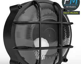 3D Round bulkhead lamp
