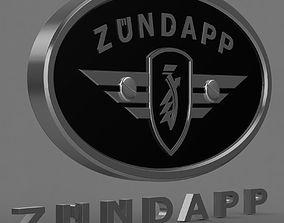 Zundapp logo 1 3D model