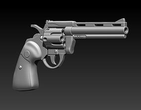 Revolver phyton 3D print model games