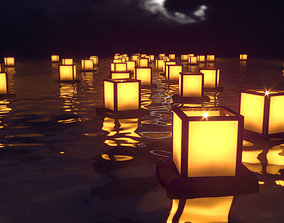 3D Japanese Lantern