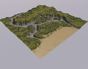 3D Terrain MTH104