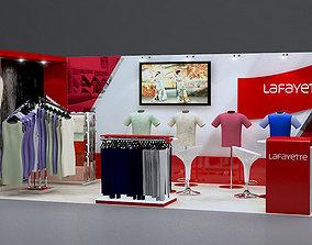 Stand Lafayett 3D model