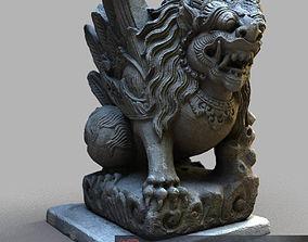 Bali-statue-017 3D model game-ready