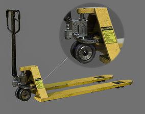 3D model realtime Hand Pallet Truck