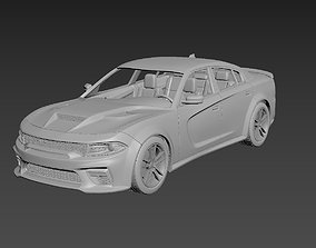 3D printable model Dodge Charger SRT 2021 Body For Print