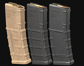 AR-M4 - Magpul Pmag Magazine 3D asset