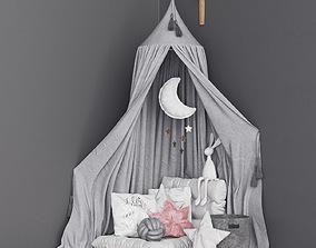 Moon Canopy Set 3D model