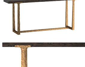 3D T-BRACE CONSOLE TABLE