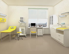 Pediatric doctor office 3d model