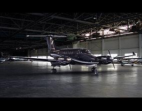 3D Beechcraft KingAir 250 Private