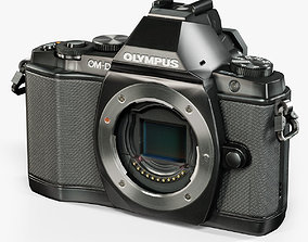 Olympus OM-D E-M5 mirrorless digital camera 3D model