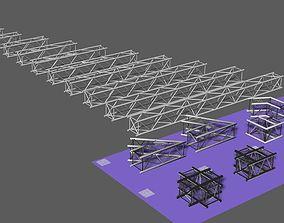 3D model Prolyte H40V square trusses