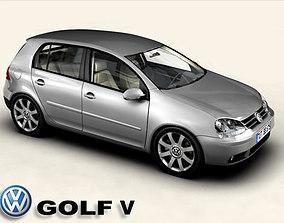 3D model VW Golf V