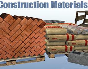 3D model Building materials