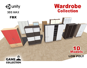Wardrobe Collection 3D asset