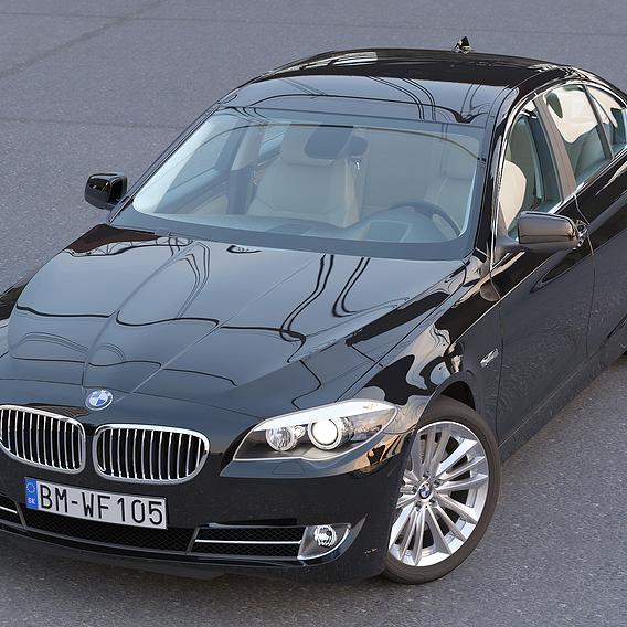 BMW 5-series F10 2010