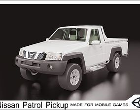 3D asset 2016 Nissan Patrol Pickup