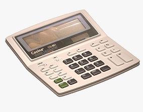 Casine Calculator 3D asset