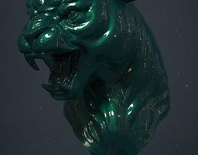 3D printable model sculptures Panther